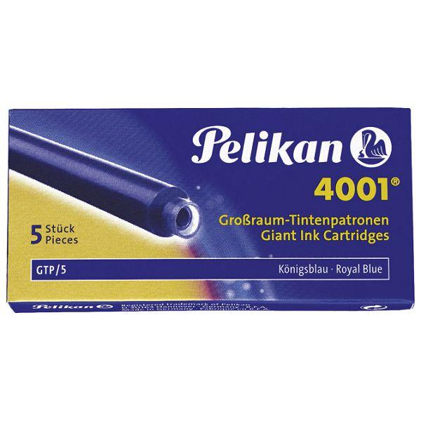 Tinta za nalivpero patrone duge pk5 4001 Pelikan 310748 plava