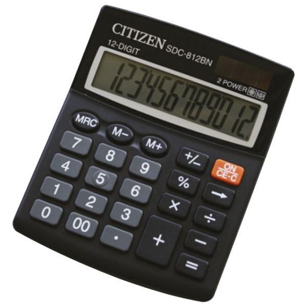Kalkulator komercijalni 12mjesta Citizen SDC-812BN blister