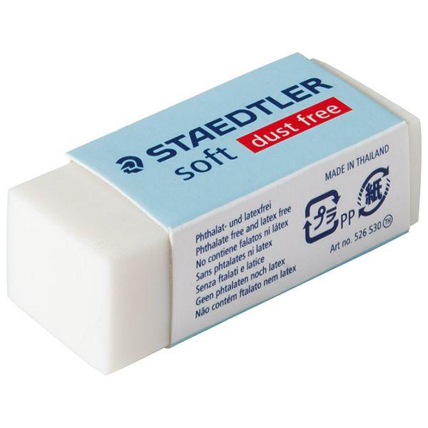 Gumica Soft Staedtler 526 S30 bijela-KOMAD