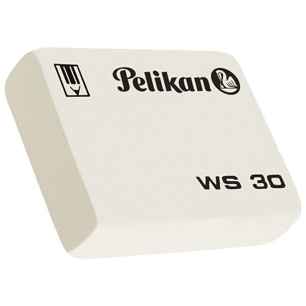 Gumica WS30 Pelikan 619528-1 bijela-KOMAD