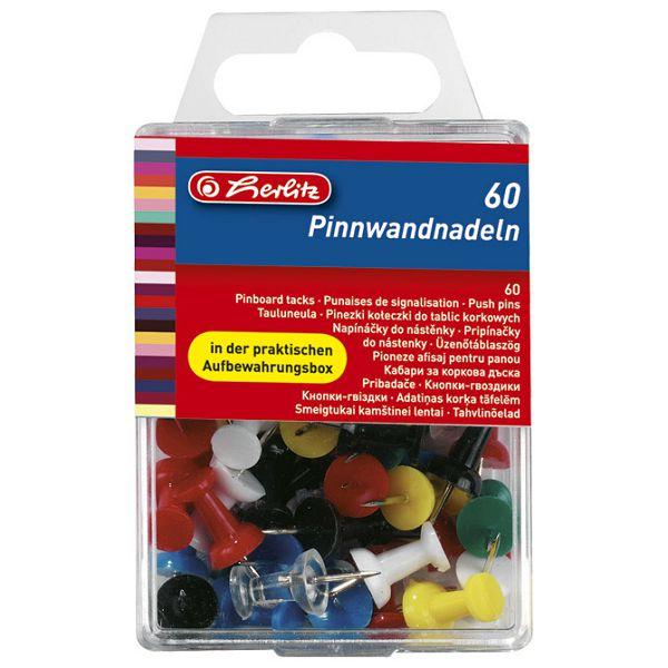 Čavlići u boji za pluto ploču pk60 Herlitz 8770406 blister