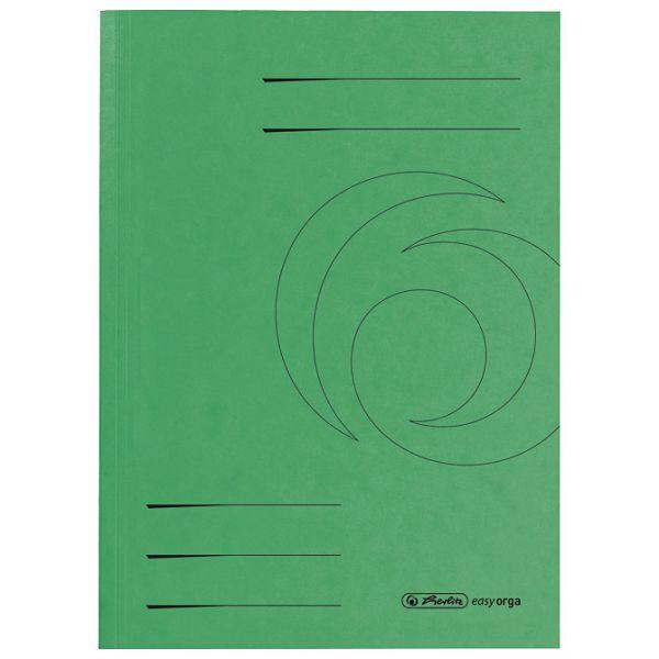 Fascikl BB karton A4 Herlitz 10902831 zeleni