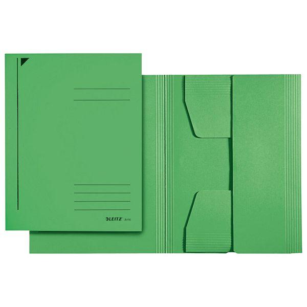 Fascikl klapa prešpan karton A4 Juris Leitz 39240055 zeleni
