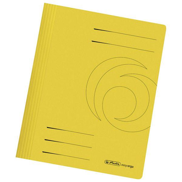Fascikl mehanika euro karton A4 Herlitz 10902468 žuti