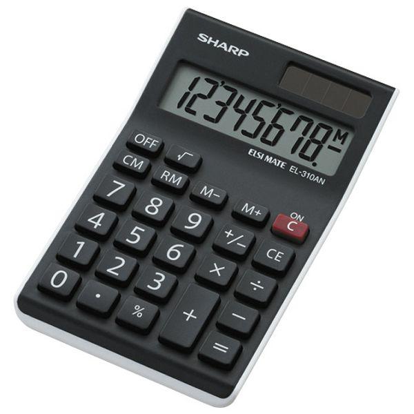Kalkulator komercijalni  8mjesta Sharp EL-310 ANWH