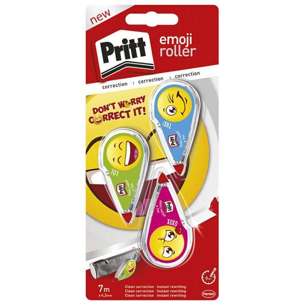 Korektor roler 4,2mmx7m EmojiRolly pk3 Pritt Henkel 222773 blister!!