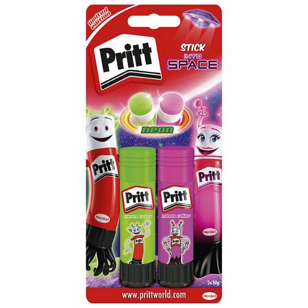 Ljepilo u stiku 20g pk2 Neon Pritt Henkel 2319906 blister