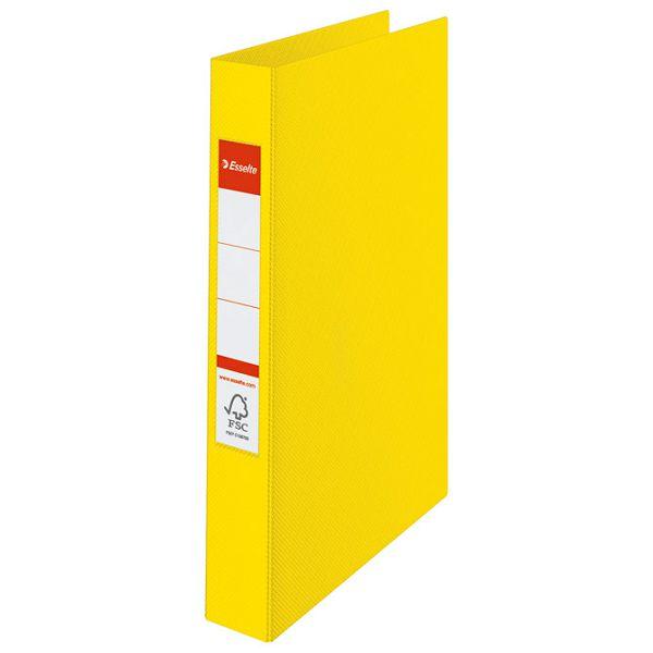 Mapa uložna 2ringa-fi25/hrbat-35mm A4 Esselte 14450 svijetlo žuta