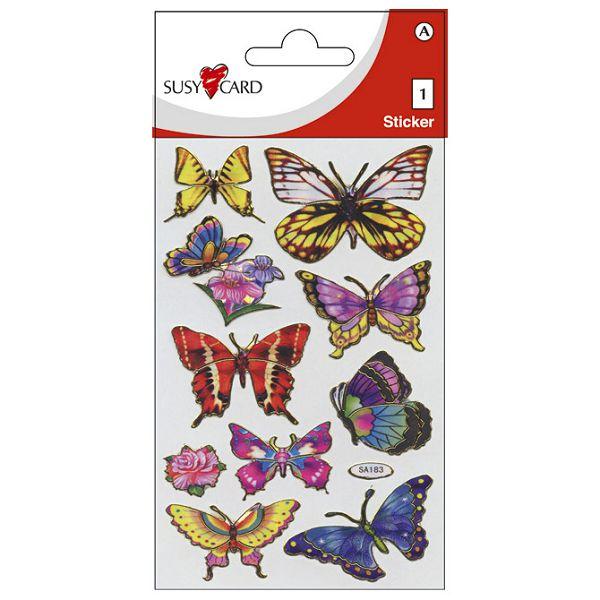 Naljepnice dječje-prismatic leptiri Herlitz 11259504 blister!!