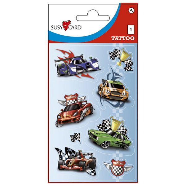 Naljepnice dječje-Tattoo auti Herlitz 11258829 blister!!