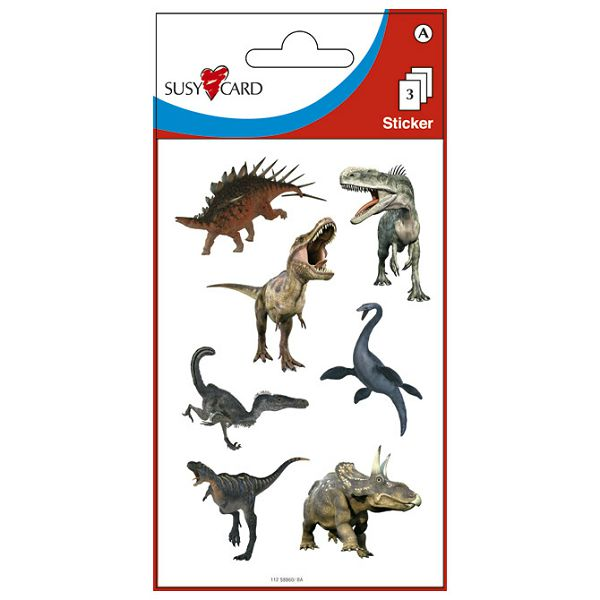 Naljepnice dječje dinosauri Herlitz 11258886 blister!!