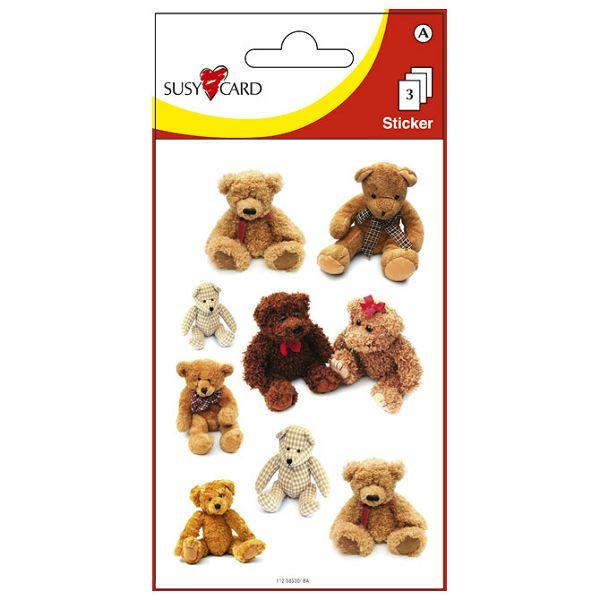 Naljepnice dječje medvjedi Herlitz 11258530 blister!!