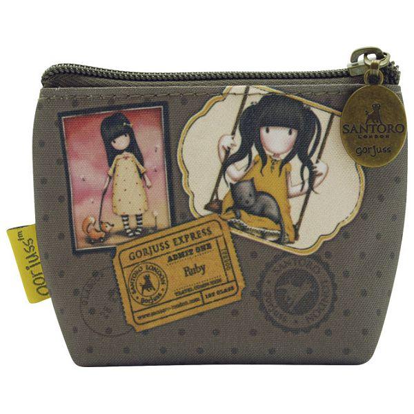 Novčanik za sitan novac zip Ruby Yellow Gorjuss 565GJ05!!