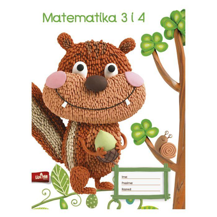 Obrazac školski matematika za 3 i 4razred Zoo/Pets Rock Mar-Mar!!