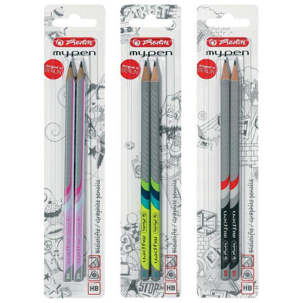 Olovka grafitna HB My pen pk2 Herlitz 10786952 blister!!