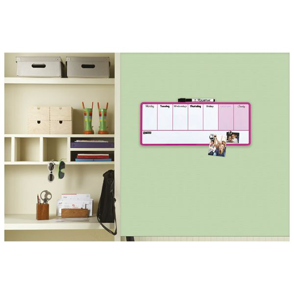 Ploča planer tjedni 36x14cm Rexel 1903977 roza!!