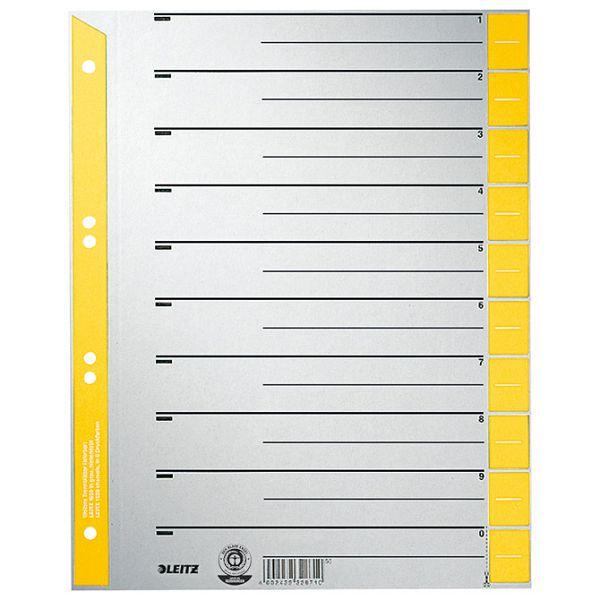 Pregrada kartonska A4 Leitz 16520015 žuta