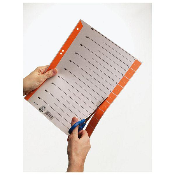Pregrada kartonska A4 Leitz 16520045 narančasta