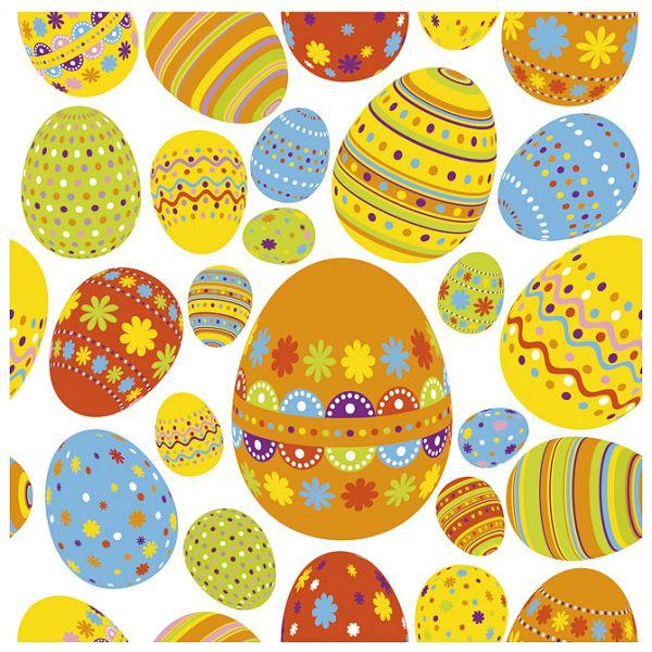 Salvete troslojne 33x33cm pk20 Happy eggs Herlitz 11341500