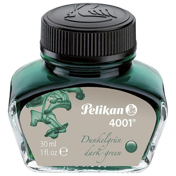 Tinta za nalivpero bočica 30ml 4001 Pelikan 300056 tamno zelena