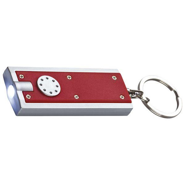 Svjetiljka ručna LED plastična s alkicom crvena