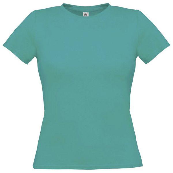 Majica kratki rukavi B&C Women-Only 150g tirkizna XL!!