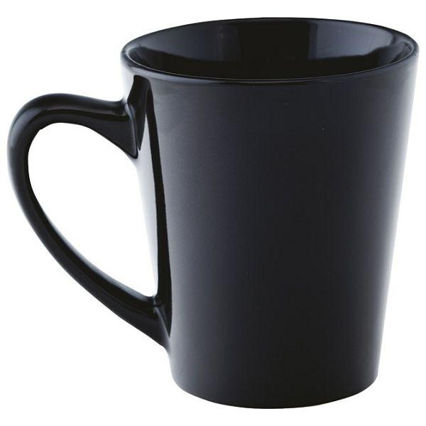 Šalica 350ml keramička crna
