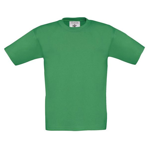 Majica kratki rukavi B&C Exact Kids 150g trava zelena 9/11