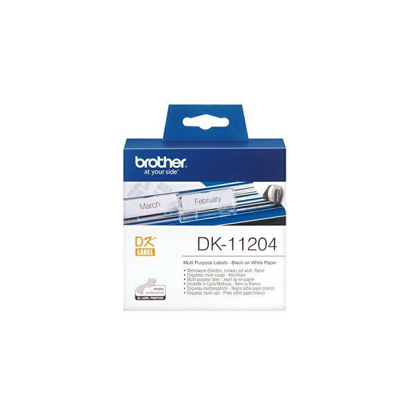 DK11204 Visenamjenske naljepnice