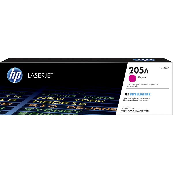 HP 205A Magenta Original LJ Toner Cartridge CF533A
