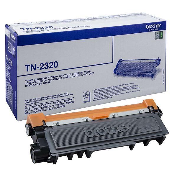 BROTHER TN-2320 TN2320 BLACK ORGINALNI TONER