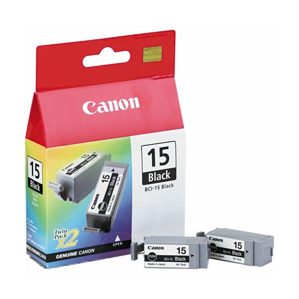 Canon BCI-15 Black 2pak Orginalna tinta
