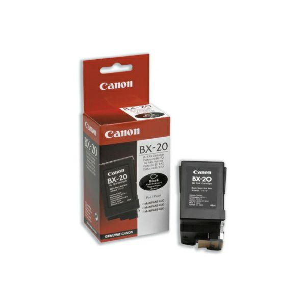 Canon BX-20 Black Orginalna tinta
