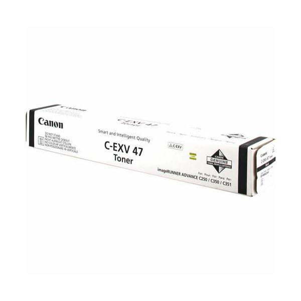 Canon C-EXV47 Black Originalni toner