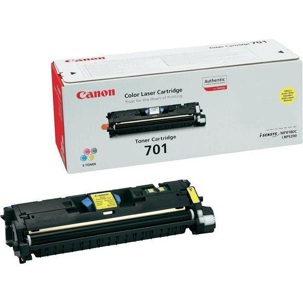 Canon CRG-701 Yellow Orginalni toner