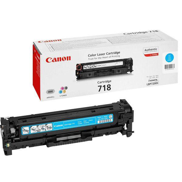 Canon CRG-718 Cyan Originalni toner