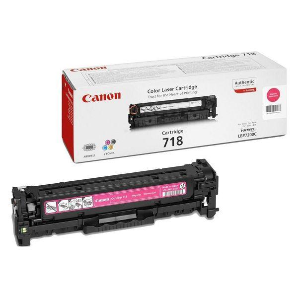 Canon CRG-718 Magenta Originalni toner