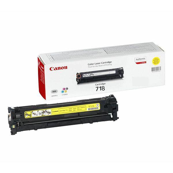 Canon CRG-718 Yellow Originalni toner