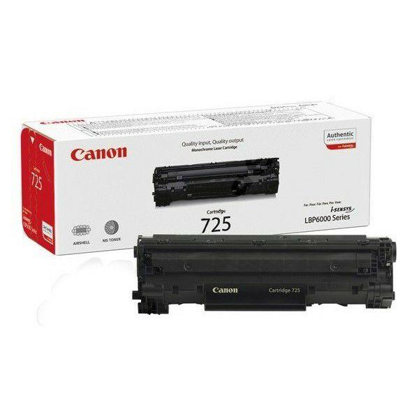 Canon Crg 725 Black Originalni Toner Tvojtoner