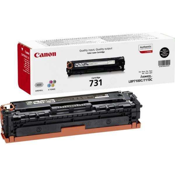 Canon CRG-731 Black Originalni toner