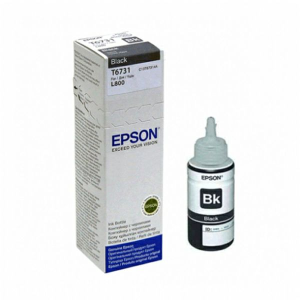Epson T6731 CISS Black Orginalna tinta