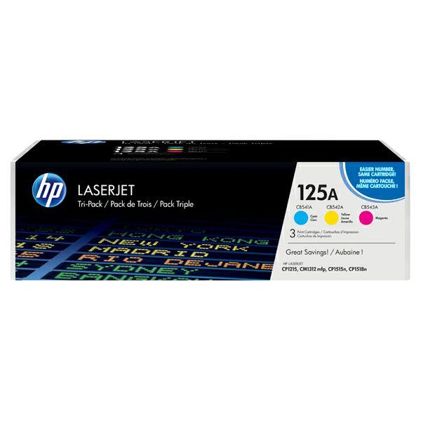 HP CF373AM 125A Orginalni toner, komplet color tonera (C/M/Y)