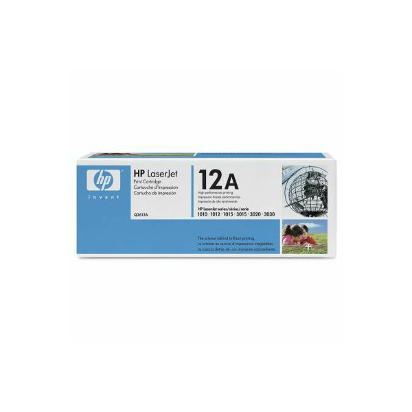 HP Q2612A 12A Black Orginalni toner