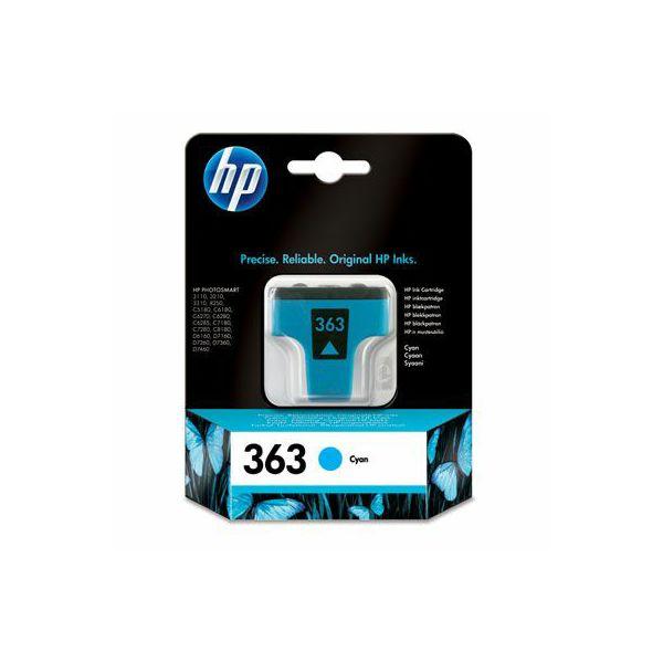 HP C8771EE No.363 Cyan Orginalna tinta