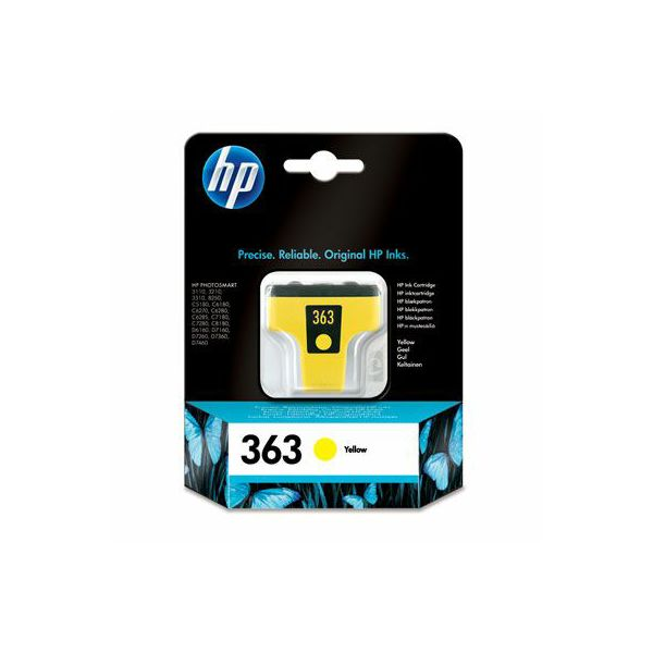 HP C8773EE No.363 Yellow Orginalna tinta