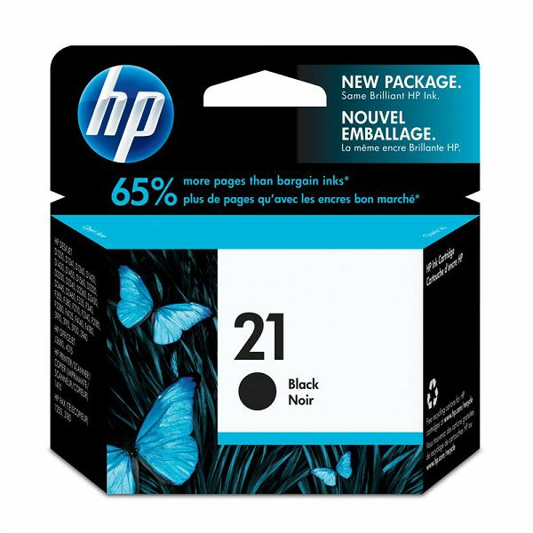 HP C9351AE No.21 Black Orginalna tinta
