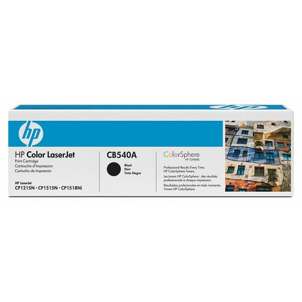 HP CB540A 125A Black Orginalni toner