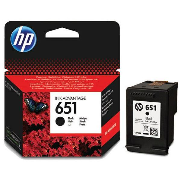 HP C2P10AE No.651 Black Orginalna tinta