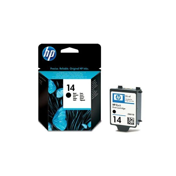HP C5011DE No.14 Black Originalna tinta
