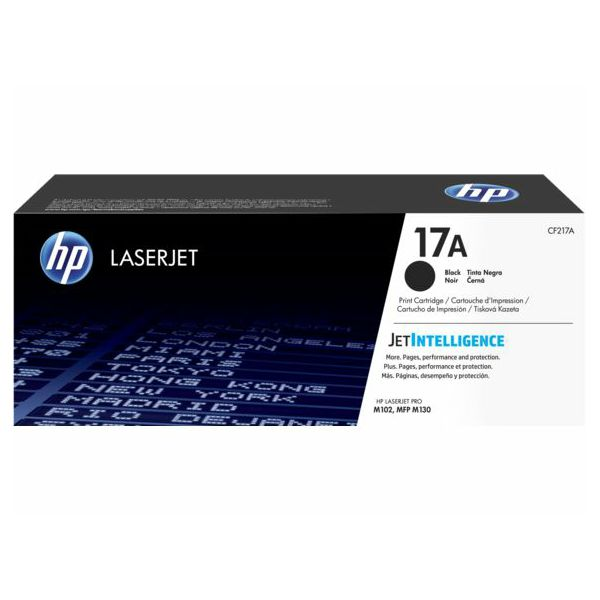HP CF217A 17A Black Originalni toner